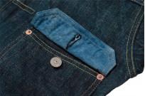 Sugar Cane Anniversary Edition Edo-Ai Limited Edition Denim - Type I Jacket - Image 11