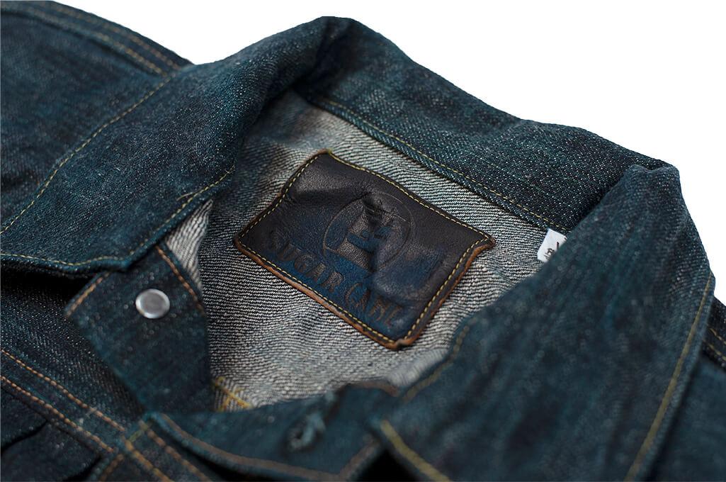Sugar Cane Anniversary Edition Edo-Ai Limited Edition Denim - Type I Jacket - Image 12
