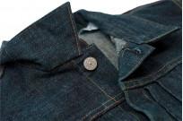 Sugar Cane Anniversary Edition Edo-Ai Limited Edition Denim - Type I Jacket - Image 14