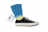 EXCEL / PLAY 2WIN - Hand-Dyed Socks / Blue Top - Image 3