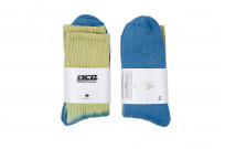 EXCEL / PLAY 2WIN - Hand-Dyed Socks / Yellow Top - Image 1