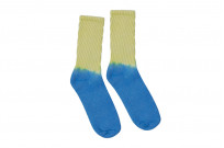 EXCEL / PLAY 2WIN - Hand-Dyed Socks / Yellow Top - Image 2