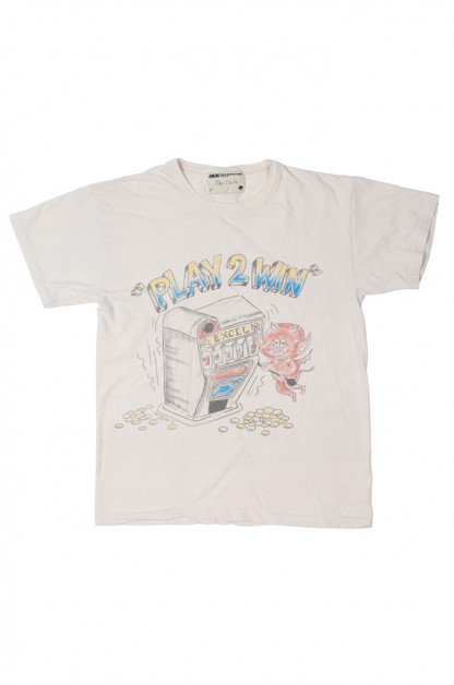 EXCEL / PLAY 2WIN - Vintage Airbrushed T-Shirt