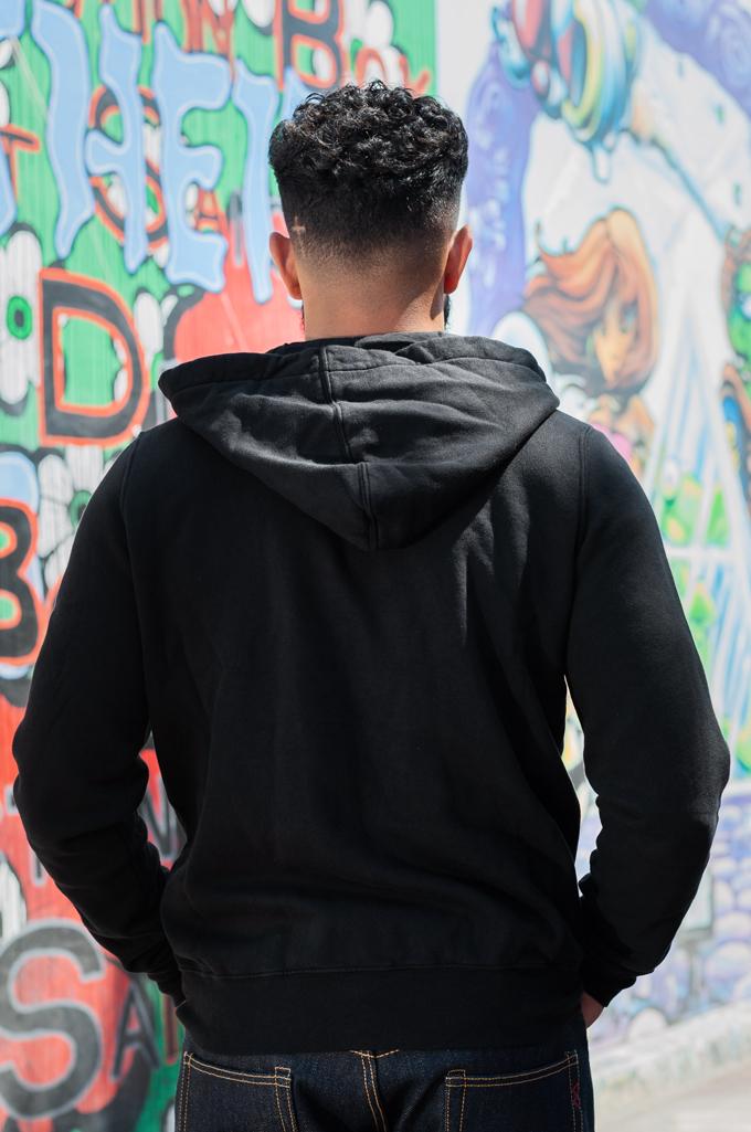 Rick Owens DRKSHDW Jason Hoodie - Black Tecuatl - Image 2