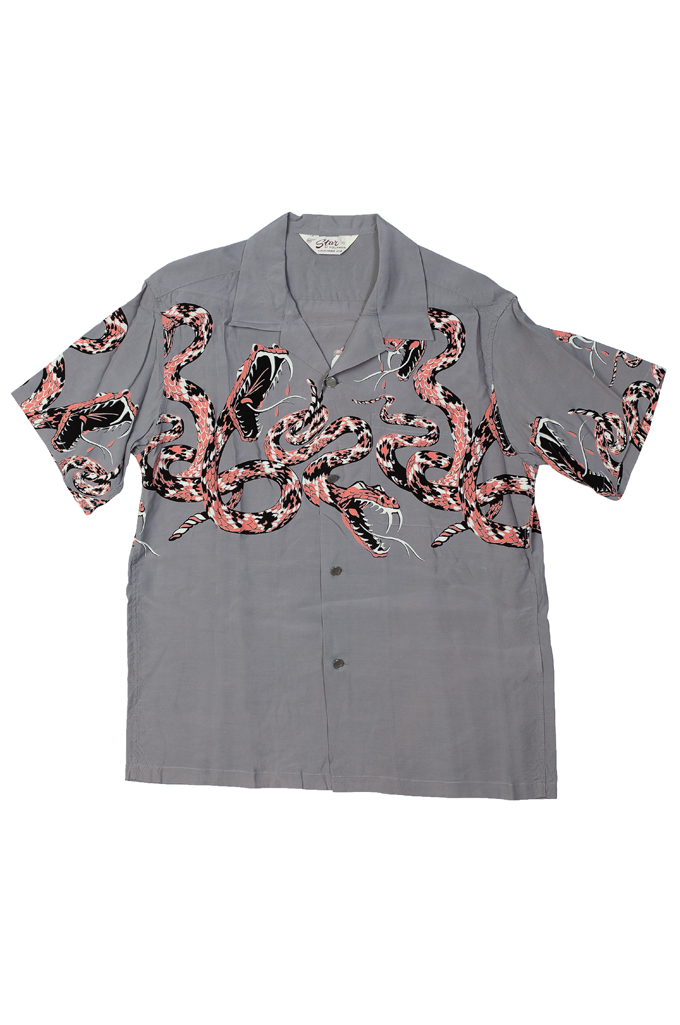 Star of Hollywood High Density Rayon Shirt - Rattle-Tattle Snakes - Image 0
