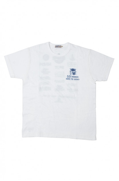 Toyo 55th Anniversary Slub Yarn Brand T-Shirt