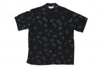 Star of Hollywood High Density Rayon Shirt - Dotted Tipsy Black - Image 1