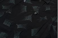 Star of Hollywood High Density Rayon Shirt - Dotted Tipsy Black - Image 2