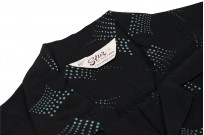 Star of Hollywood High Density Rayon Shirt - Dotted Tipsy Black - Image 5