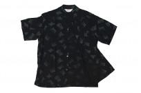 Star of Hollywood High Density Rayon Shirt - Dotted Tipsy Black - Image 7