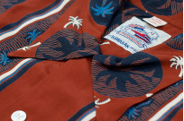 Sugar Cane Duke Shirt - Brown Excellence in The Form of Palm Trees - Image 3