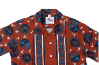 Sugar Cane Duke Shirt - Brown Excellence in The Form of Palm Trees - Image 7