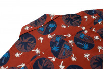 Sugar Cane Duke Shirt - Brown Excellence in The Form of Palm Trees - Image 11