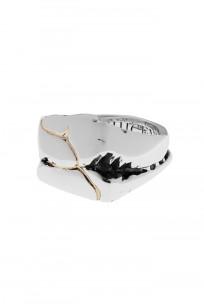 Kei Shigenaga Sterling Silver & 18k Gold Ring - Koryu - Image 1