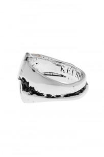 Kei Shigenaga Sterling Silver & 18k Gold Ring - Koryu - Image 2