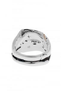 Kei Shigenaga Sterling Silver & 18k Gold Ring - Koryu - Image 3