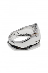 Kei Shigenaga Sterling Silver & 18k Gold Ring - Koryu - Image 4