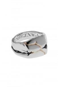 Kei Shigenaga Sterling Silver & 18k Gold Ring - Koryu - Image 5