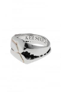 Kei Shigenaga Sterling Silver & 18k Gold Ring - Koryu - Image 6