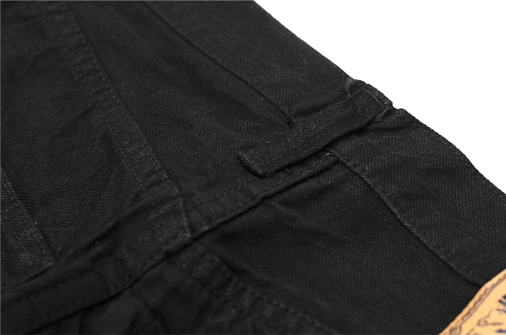 Sugar Cane for Self Edge - BSPBK - Straight Tapered 13oz Black/Black - Image 17