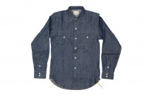 Mister Freedom Dude Rancher Shirt - 101 Indigo Denim - Image 1