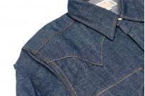 Mister Freedom Dude Rancher Shirt - 101 Indigo Denim - Image 4