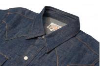 Mister Freedom Dude Rancher Shirt - 101 Indigo Denim - Image 7