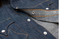 Mister Freedom Dude Rancher Shirt - 101 Indigo Denim - Image 11