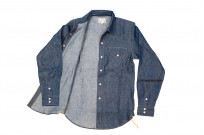 Mister Freedom Dude Rancher Shirt - 101 Indigo Denim - Image 13