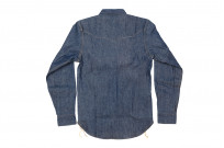 Mister Freedom Dude Rancher Shirt - 101 Indigo Denim - Image 15