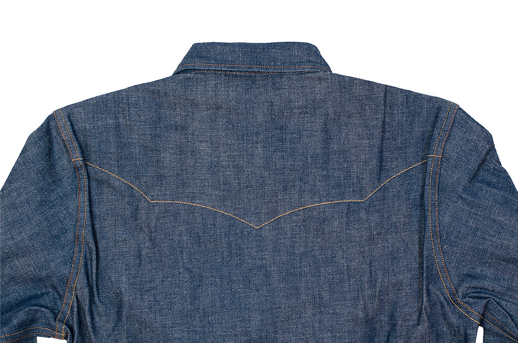 Mister Freedom Dude Rancher Shirt - 101 Indigo Denim - Image 17