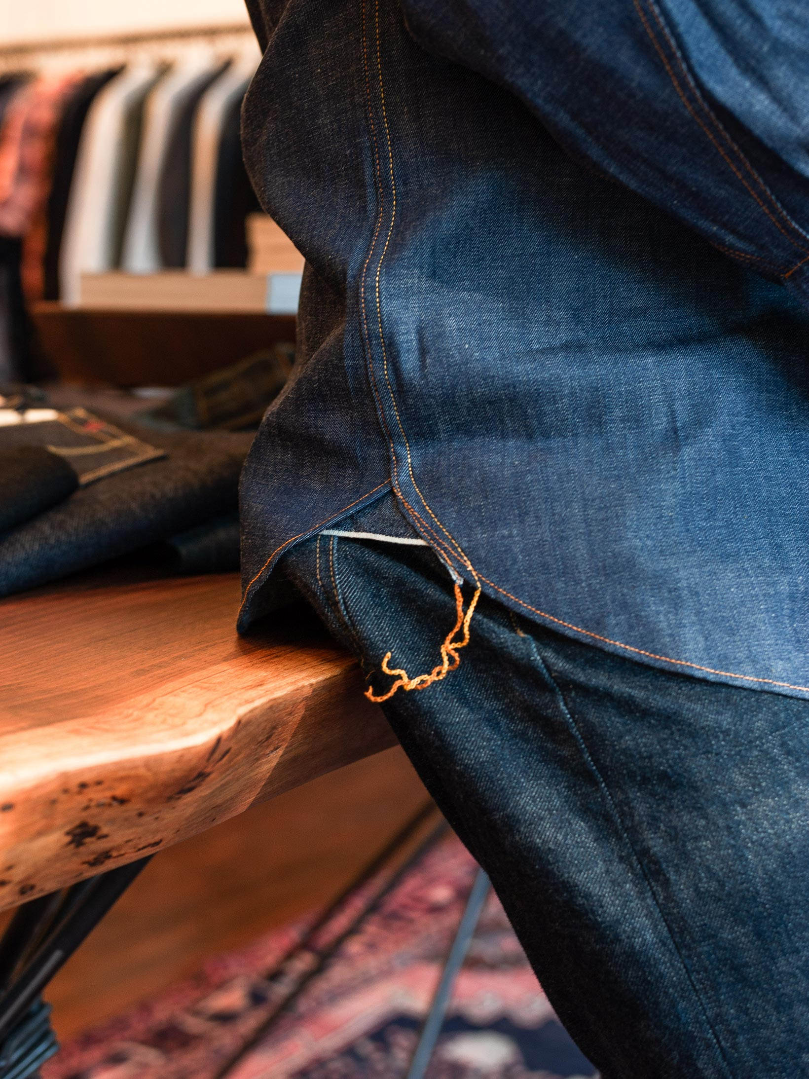 Mister Freedom Dude Rancher Shirt - 101 Indigo Denim - Image 22