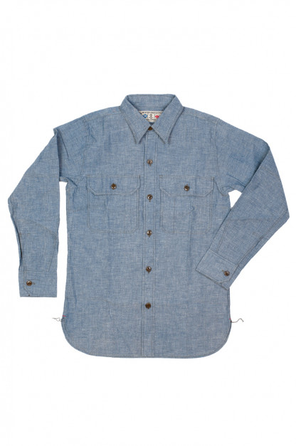 Mister Freedom M37 Snipes Shirt - Chambray