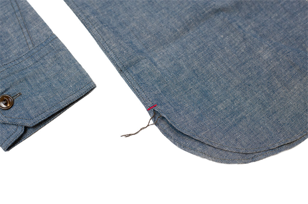 Mister Freedom M37 Snipes Shirt - Chambray - Image 5