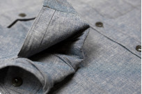 Mister Freedom M37 Snipes Shirt - Chambray - Image 6