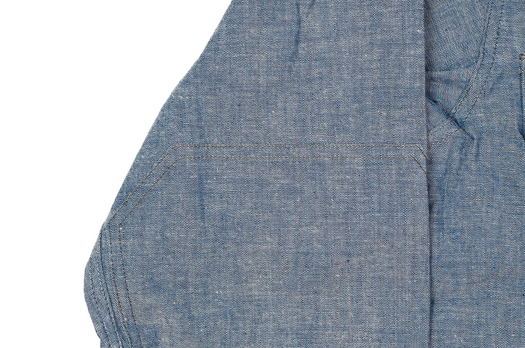 Mister Freedom M37 Snipes Shirt - Chambray - Image 7