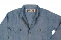 Mister Freedom M37 Snipes Shirt - Chambray - Image 9