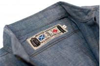 Mister Freedom M37 Snipes Shirt - Chambray - Image 10