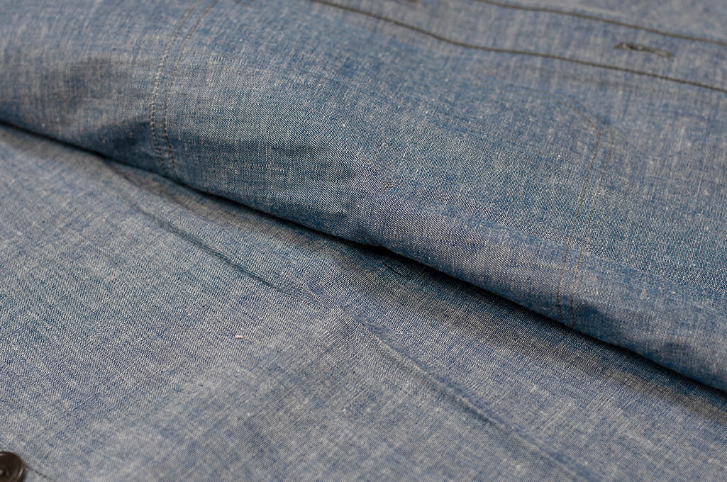 Mister Freedom M37 Snipes Shirt - Chambray - Image 14