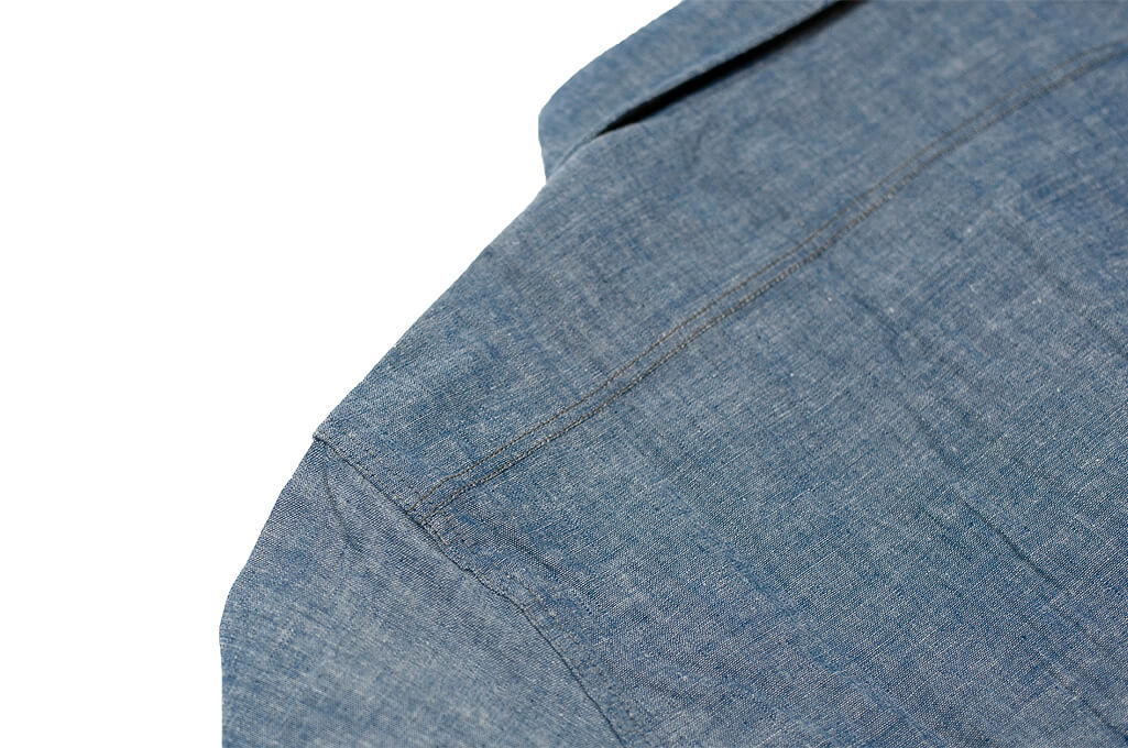 Mister Freedom M37 Snipes Shirt - Chambray - Image 15