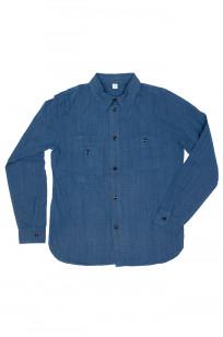 Pure Blue Japan Workshirt - Double Natural Indigo - Image 4