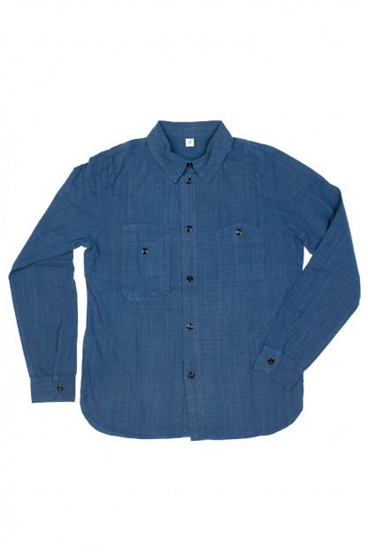 Pure Blue Japan Workshirt - Double Natural Indigo