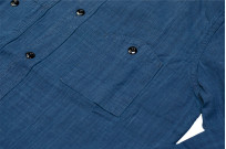 Pure Blue Japan Workshirt - Double Natural Indigo - Image 6