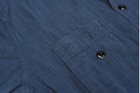 Pure Blue Japan Workshirt - Double Natural Indigo - Image 8
