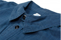 Pure Blue Japan Workshirt - Double Natural Indigo - Image 11