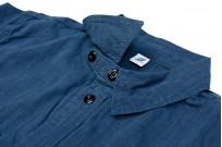 Pure Blue Japan Workshirt - Double Natural Indigo - Image 12