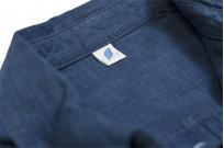 Pure Blue Japan Workshirt - Double Natural Indigo - Image 13