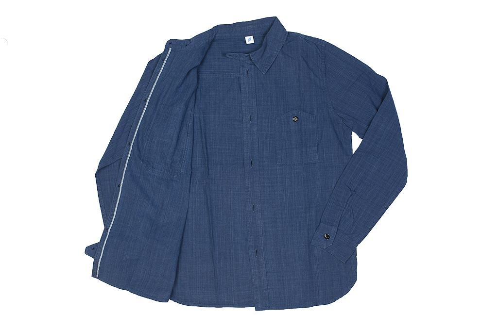 Pure Blue Japan Workshirt - Double Natural Indigo - Image 16