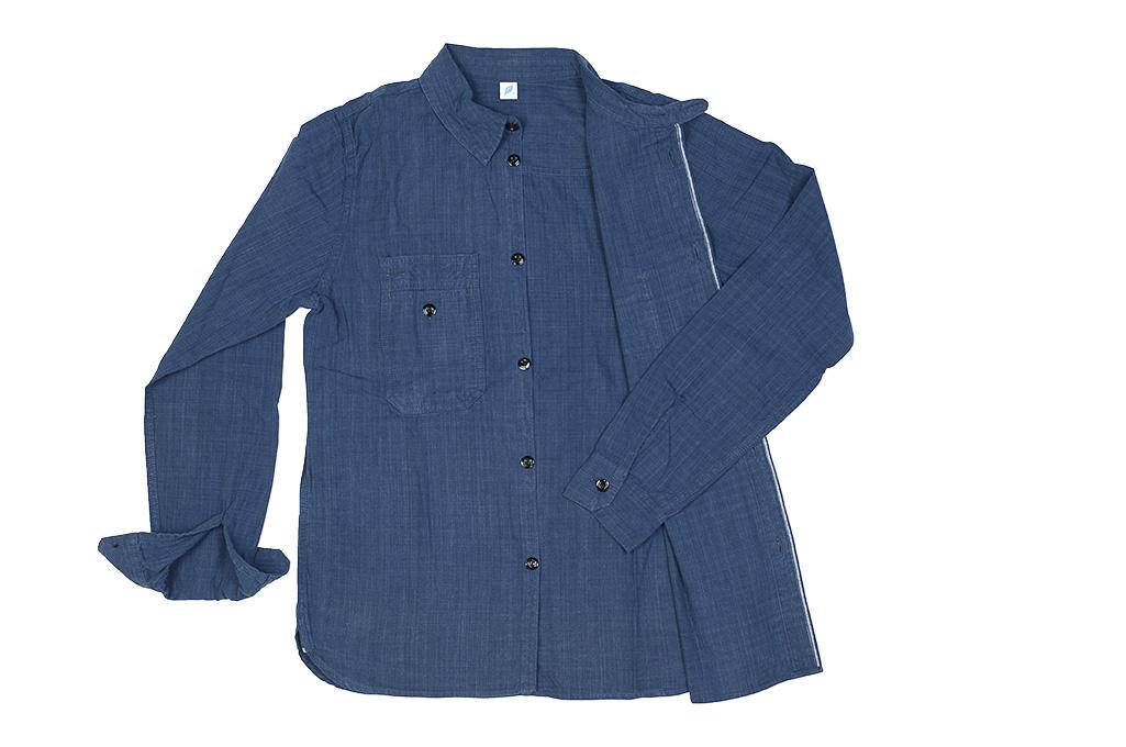 Pure Blue Japan Workshirt - Double Natural Indigo - Image 17