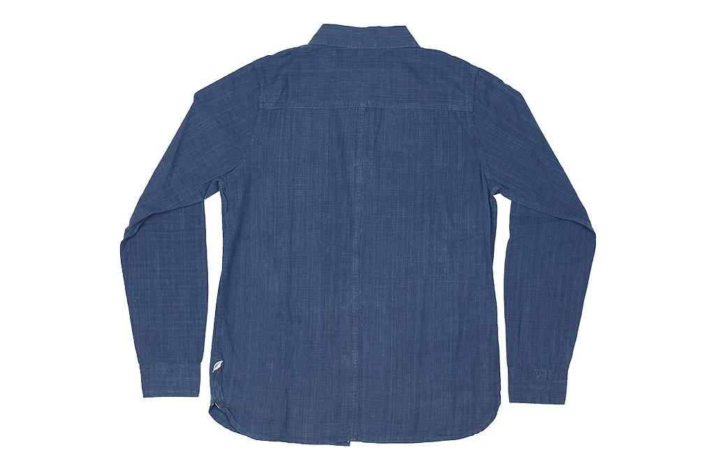 Pure Blue Japan Workshirt - Double Natural Indigo - Image 19